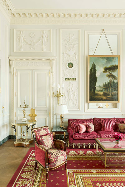 suite imperiale Ritz Carlton Paris